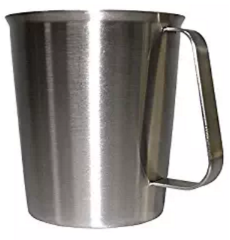 WARRAH Good Grips Stainless Steel Measuring Cup