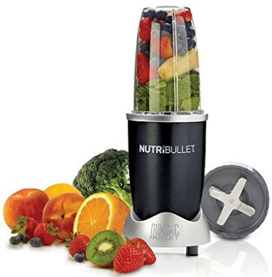 Nutribullet Blender, 600 Watt Juicer, 7 Piece Bullet Blender Set