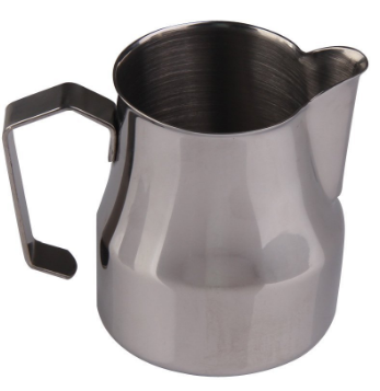 Chinatera Stainless Steel Frothing Pitcher for Espresso Machines, Milk Frothers & Latte Art