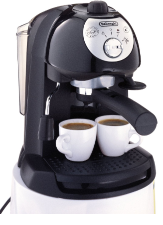 DeLonghi BAR32 Retro 15 BAR Pump Espresso and Cappuccino Maker